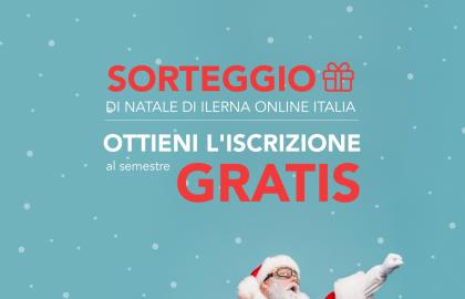 Promozione di Natale di ILERNA Online Italia