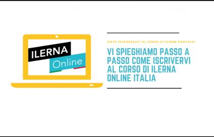 Come iscriversi ad ILERNA Online Italia