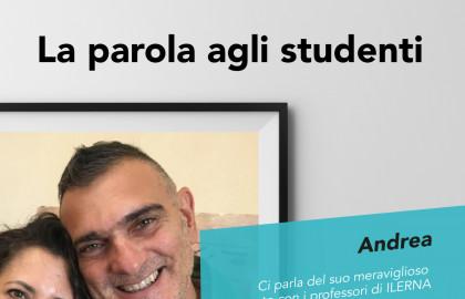 percorso di studi ILERNA Andrea