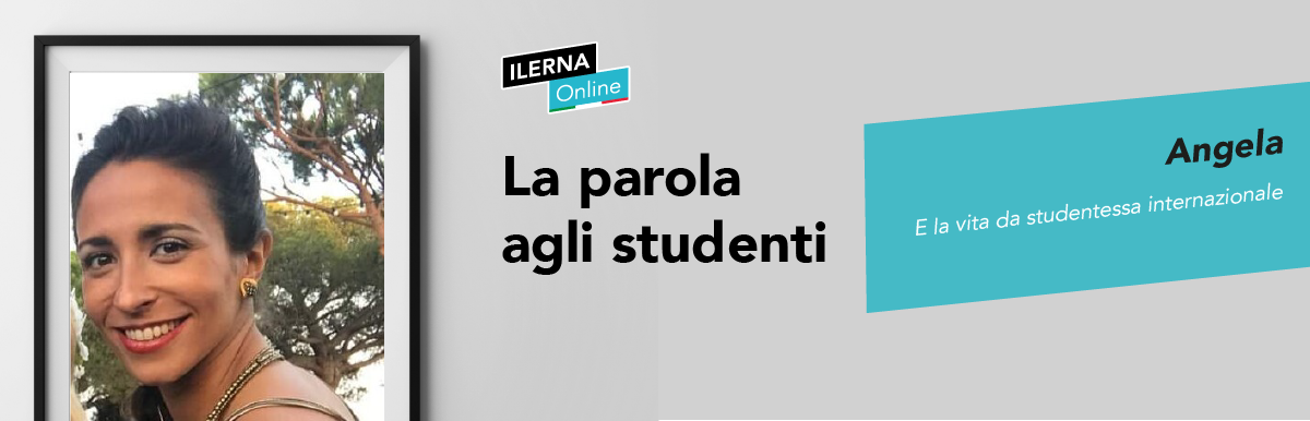 studentessa internazionale