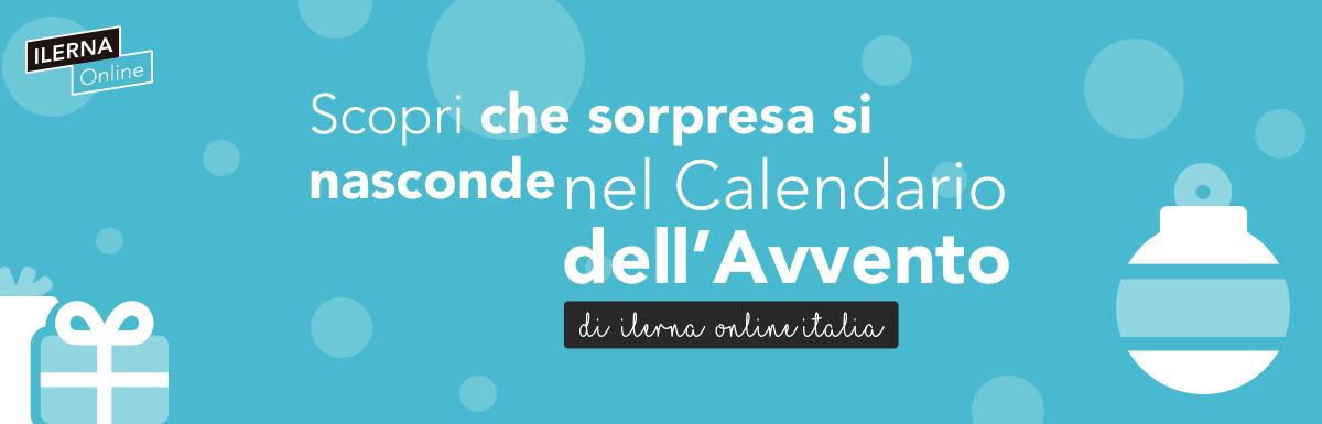 Calendario dell'avvento di ILERNA Online Italia