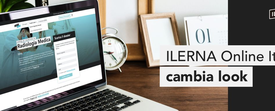 ILERNA Online Italia lancia il nuovo sito web
